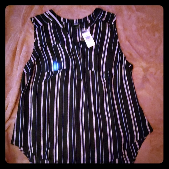 torrid Tops - Torrid summer blouse high/low style